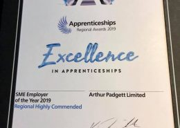 Apprentice Awards 2019 Arthur Padgett